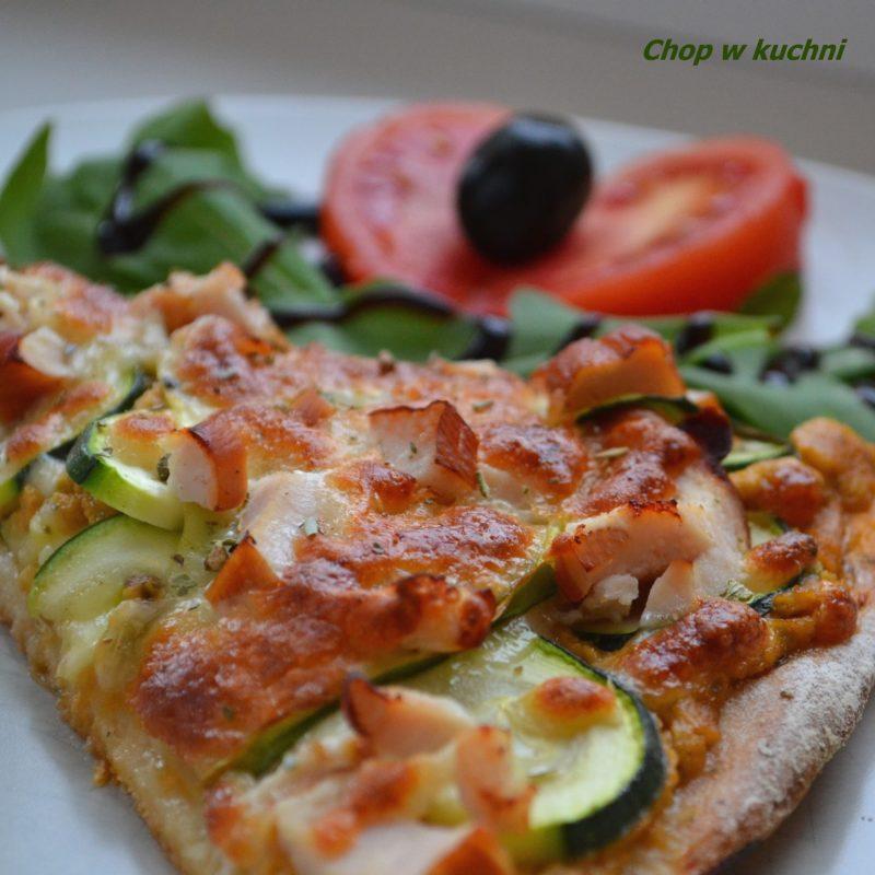 Pizza ze cukiniom-małe